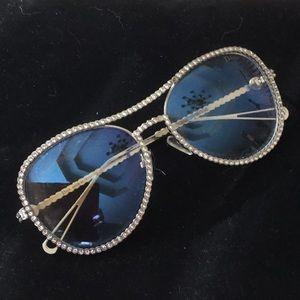Gorgeous Christian Dior Diamond Cut Glasses